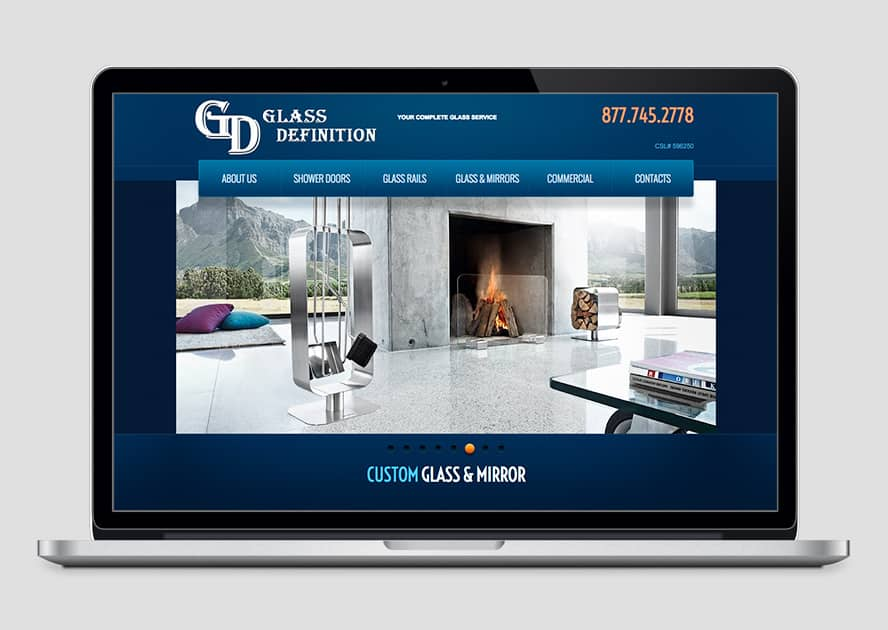 WebWorks Web Design Los Angeles - Glass Definition 2019