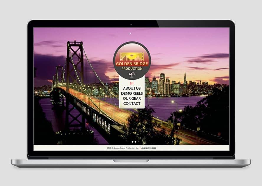 WebWorks Web Design Los Angeles - Golden Bridge Production 2019