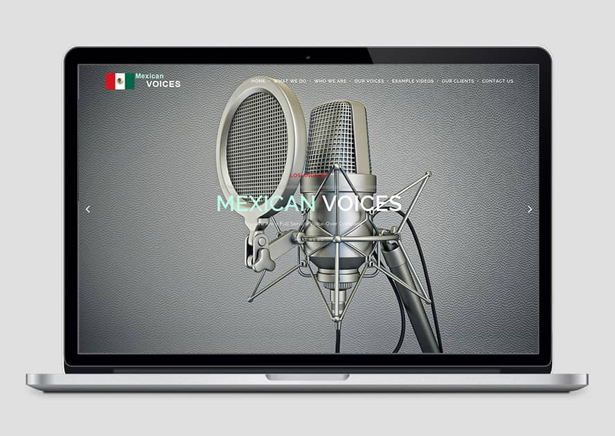 WebWorks Web Design Los Angeles - Mexican Voices 2019