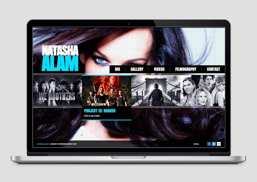 WebWorks Web Design Los Angeles - Natasha Alam 2019