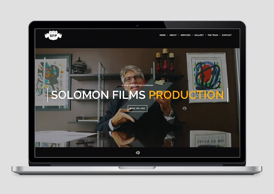 WebWorks Web Design Los Angeles - Solomon Films 2019