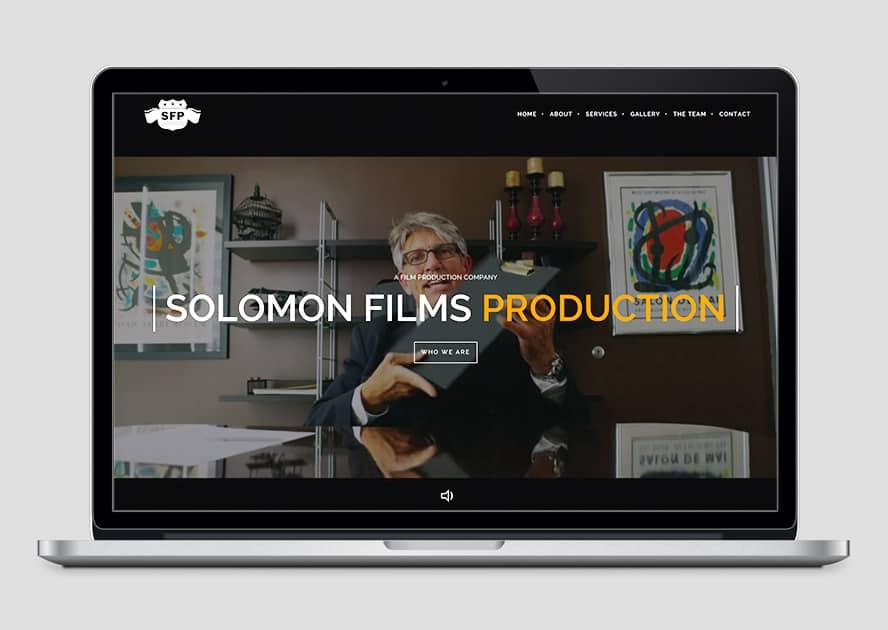 WebWorks Web Design Los Angeles - Solomon Films 2019