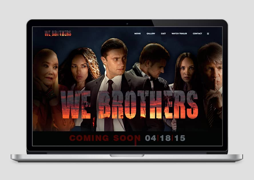 WebWorks Web Design Los Angeles - We Brothers 2019