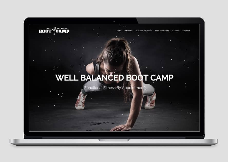WebWorks Web Design Los Angeles - Well Balanced Bootcamp 2019