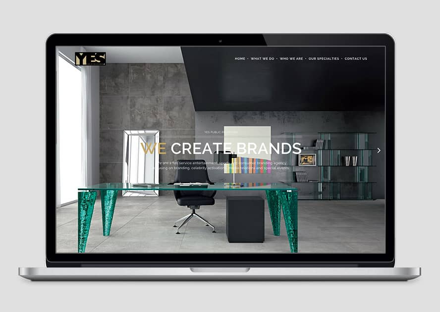 WebWorks Web Design Los Angeles - YES Public Relations 2019