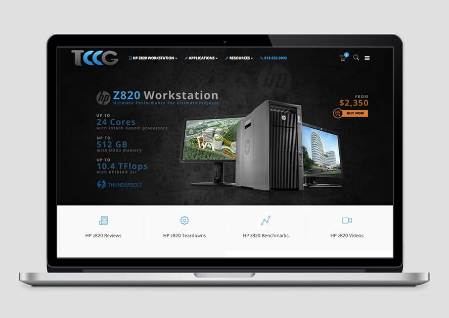 WebWorks Web Design Los Angeles - TwinCCG 2019